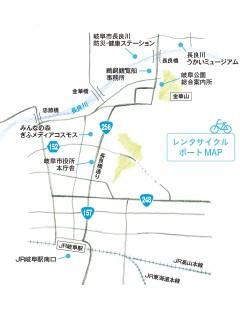 レンタサイクルポートMAP