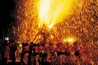 手力の火祭 @ 手力雄神社 | 各務原市 | 岐阜県 | 日本
