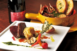 Club Burassai クラブブラッサイ・牛ヒレ肉のゴルゴンゾーラソース