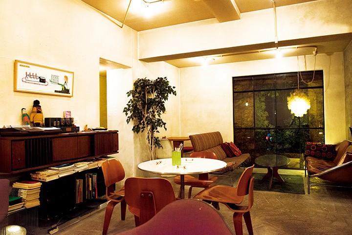 カフェ カンテ マンフィーラ cafe Kante Manfila 店内の様子