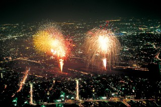 長良川の花火大会 @ 長良川河畔