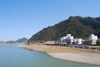 長良川左岸引き