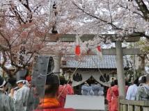 「赤口神社の祭りにて」