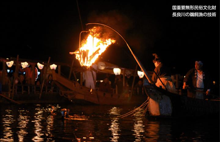 国重要無形民俗文化財 長良川の鵜飼魚の技術