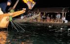 長良川の鵜飼漁の技術