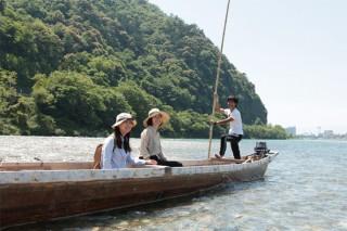 プログラム1:川漁師のおもてなしツアー★長良川天然鮎の炭火塩焼き付き★