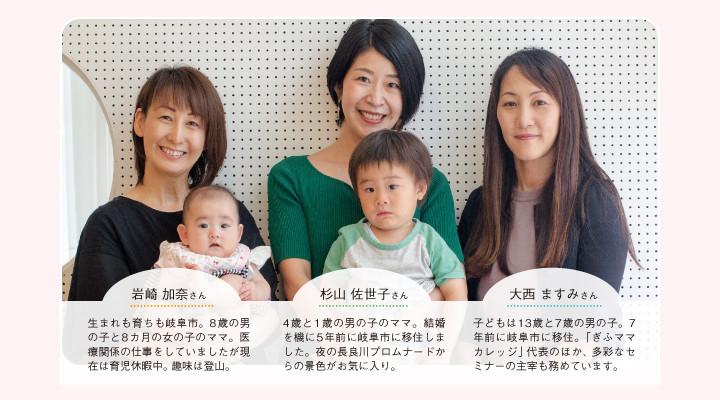 岐阜市の子育て事情イメージ01